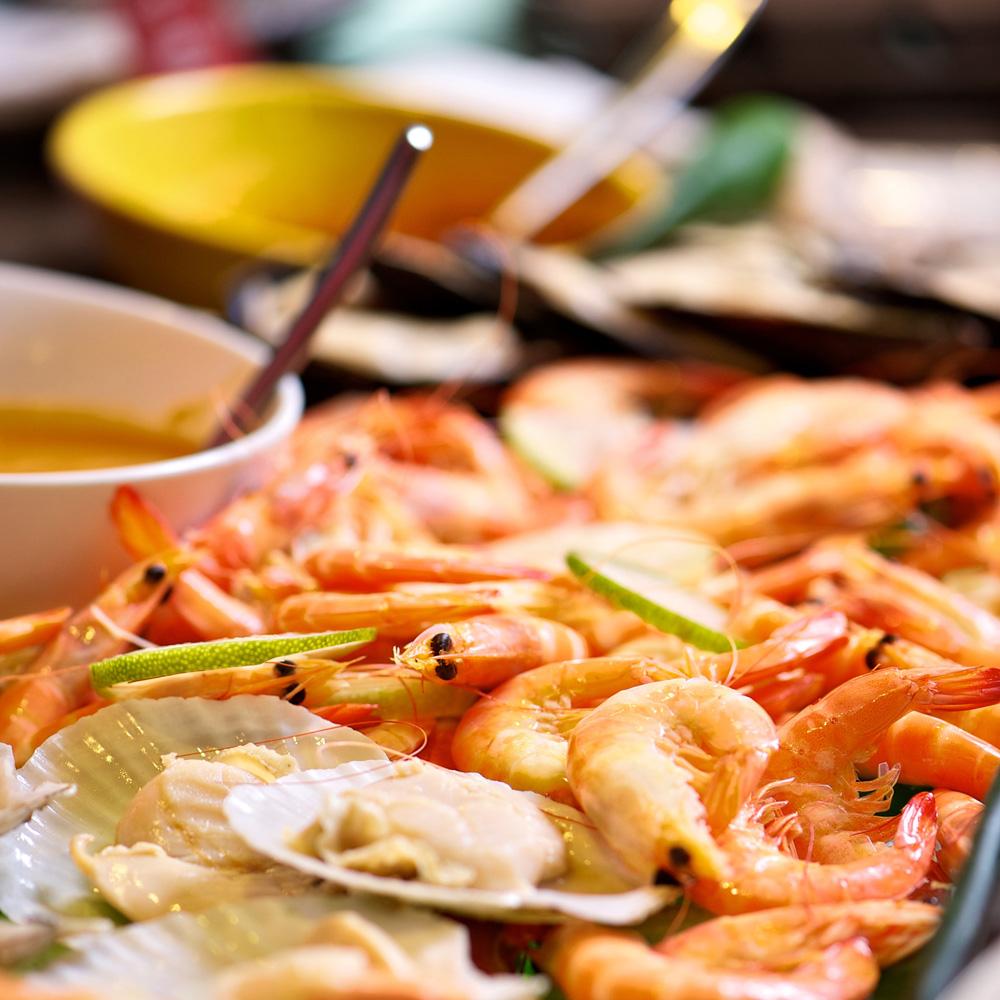 【電子票券】野柳泊逸酒店漁人廚房自助式吃到飽午餐或晚餐券(假日+100)
