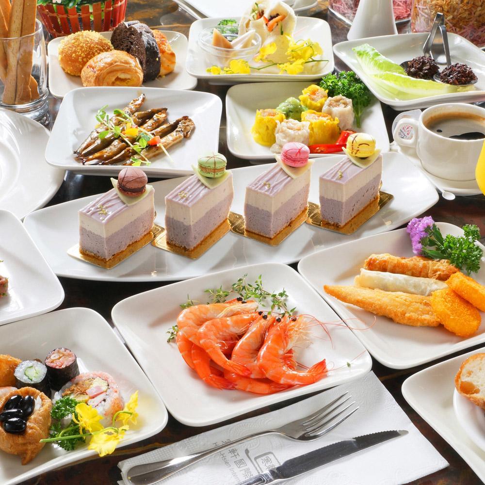 【電子票券】高雄寒軒國際飯店2F茶苑2人自助式下午茶吃到飽餐券(假日使用不加價)