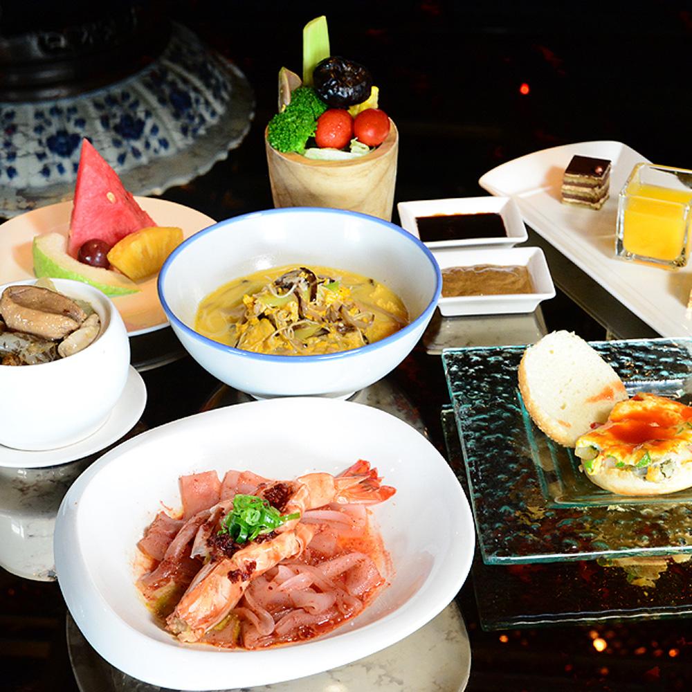 【電子票券】台北君品酒店17F頤宮中餐廳午餐或晚餐時段福州菜套餐券(假日不加價)