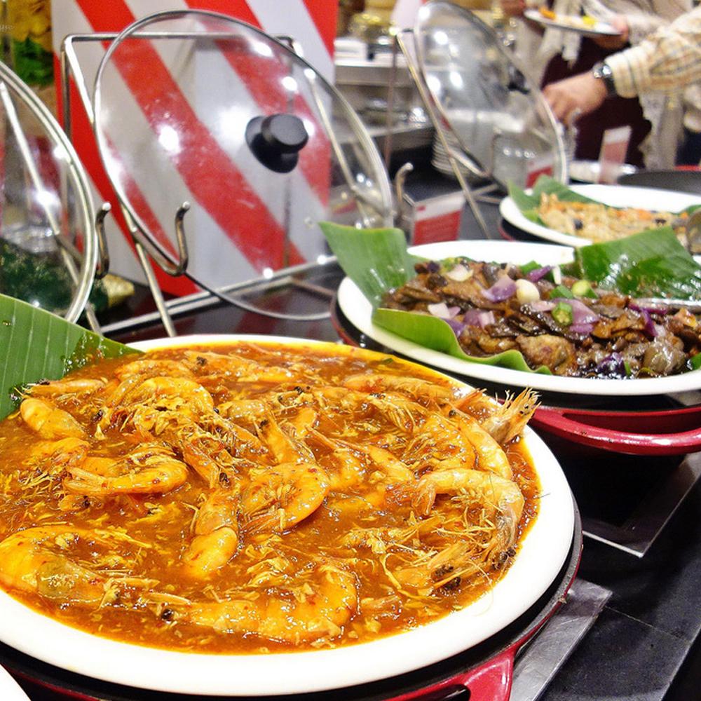 【電子票券】台北遠東飯店6F遠東CAFÉ自助式吃到飽午或晚餐券(周六午餐+200,週三、週五、週六晚餐或週日午餐+300)