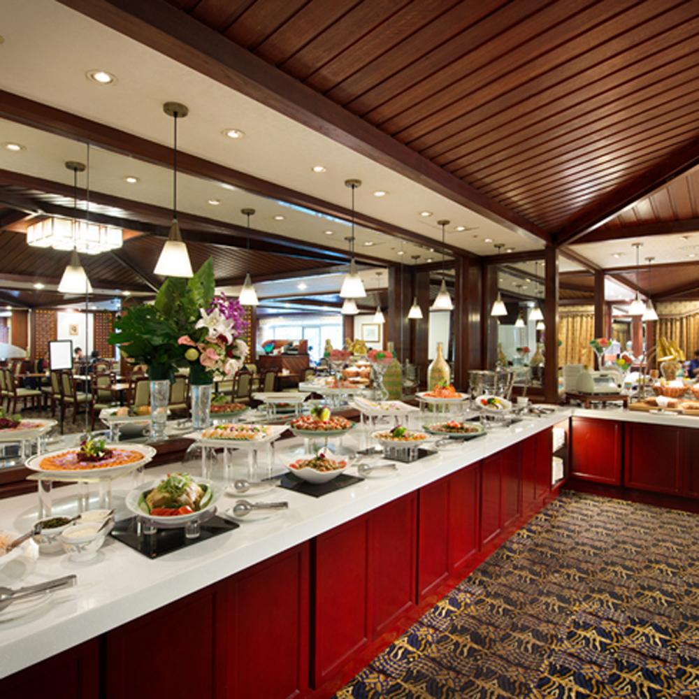 【電子票券】台北福華大飯店2F麗香苑平日周一至周四晚餐主菜+自助沙拉吧餐券