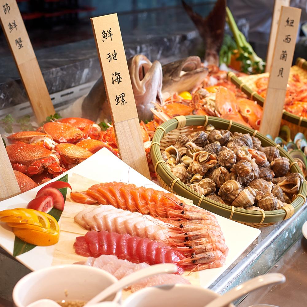 【電子票券】台北王朝大酒店自助式吃到飽午或晚餐券(假日+100)