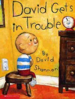 David Gets in Trouble大衛找麻煩(外文書)