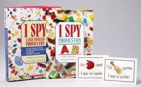 I Spy Phonics Fun Boxed Set 字母找找盒裝套書(12書+26字卡+6張教學遊戲卡+1CD+家長導讀指引)(外文書)