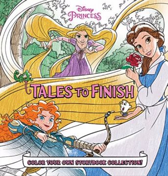 Disney Princess Storybook Collection: Tales to Finish迪士尼公主系列:未完成的故事,畫出專屬你的故事書吧!(外文書)(精裝)