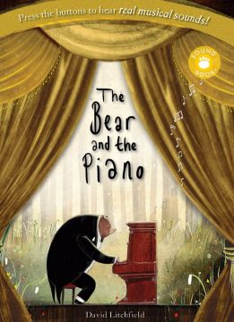 The Bear and the Piano Sound Book森林裡的鋼琴師(壓壓有聲書)(外文書)(精裝)