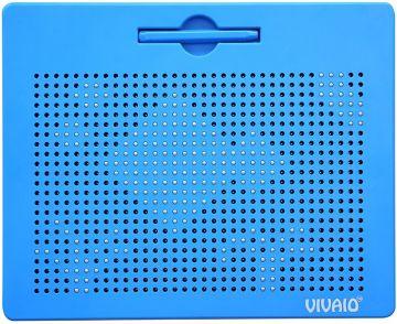 磁性畫板(一個附有磁珠的遊戲盤面/一支磁力筆/造型範例手冊)