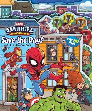 Super Hero Adventures: Save the Day! 超級英雄:拯救世界(翻翻書)厚頁書(外文書)