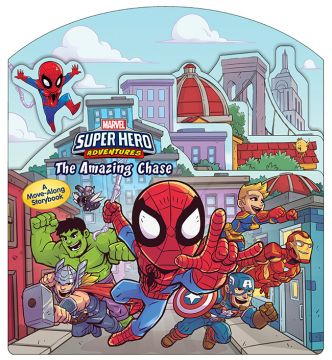 Super Hero Adventures: The Amazing Chase 超級英雄:驚人的追擊任務(移動書)厚頁書(外文書)