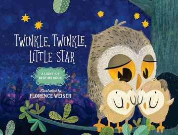 Twinkle, Twinkle, Little Star 一閃一閃小星星(發亮書)厚頁書(外文書)