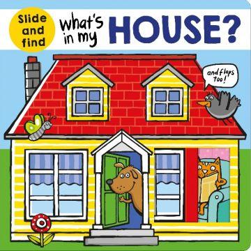 Whats in My House 猜猜我的房子裡有什麼(翻翻書‧美版)厚頁書(外文書)