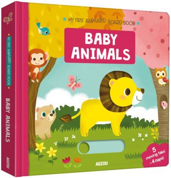 My First Animated Board Book: Baby Animals 我的第一本動物寶寶推推書(外文書)