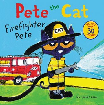 Pete the Cat: Firefighter Pete 消防員皮皮貓(外文書)