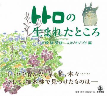 宮崎駿動畫龍貓場景插畫本