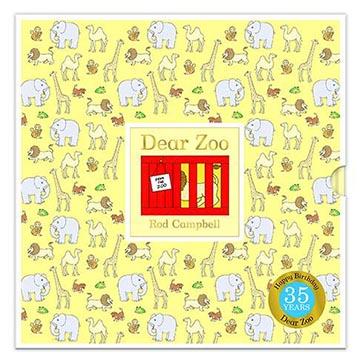 Dear Zoo 35th 可愛動物園35週年版 精裝翻翻書(外文書)