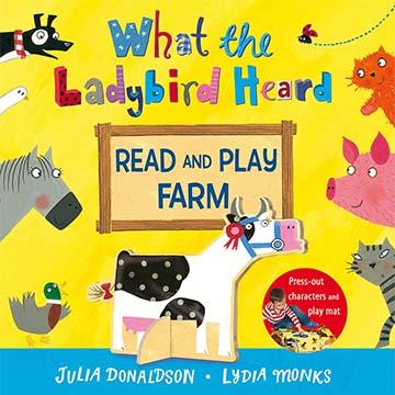 What The Ladybird Heard Read And Play Farm 小瓢蟲聽到了什麼? 故事+玩樂兩用書(外文書)