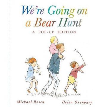 We're Going On A Bear Hunt 我們要去抓狗熊 立體故事繪本(外文書)
