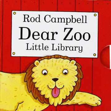 Dear Zoo Little Library 可愛的動物園 掌中盒裝書(外文書)