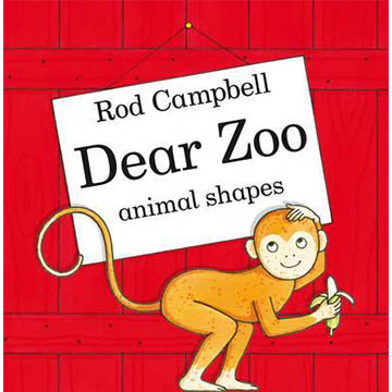 Dear Zoo Animal Shapes 可愛動物園動物形狀硬頁書(外文書)