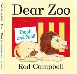 Dear Zoo Touch And Feel Book 可愛動物園觸摸書(外文書)