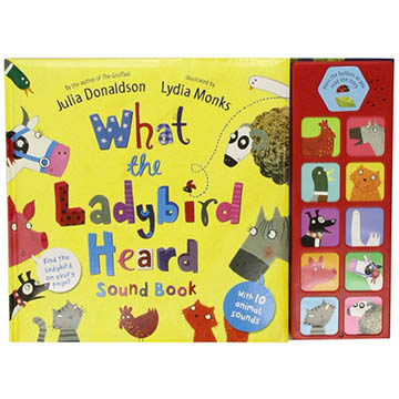 What The Ladybird Heard Sound Book 小瓢蟲聽見了什麼? 精裝有聲故事書(外文書)