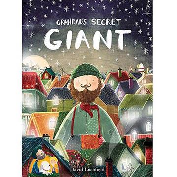 Grandad's Secret Giant 爺爺的神祕巨人 精裝繪本(外文書)
