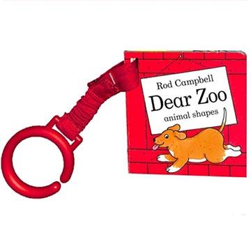 Dear Zoo Animal Shapes Buggy Book 可愛動物園動物形狀硬頁吊掛書(外文書)