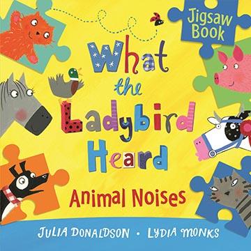 What The Ladybird Heard:Animal Noises Jigsaw Book 小瓢蟲聽到了什麼? 精裝拼圖書(外文書)