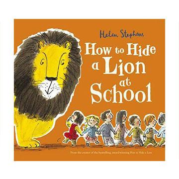 How To Hide A Lion At School 校園藏獅大作戰 平裝繪本(外文書)