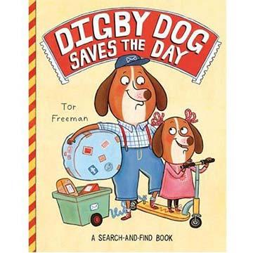 Digby Dog Saves The Day 小狗郵差出任務 找找看遊戲書(外文書)