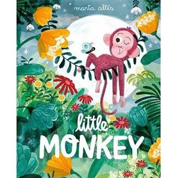 Little Monkey 小猴子的冒險故事 精裝繪本(外文書)