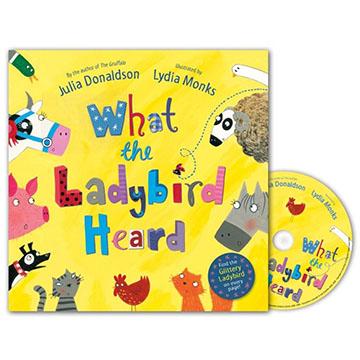 What The Ladybird Heard 小瓢蟲聽到了什麼? 平裝書+CD故事書(外文書)