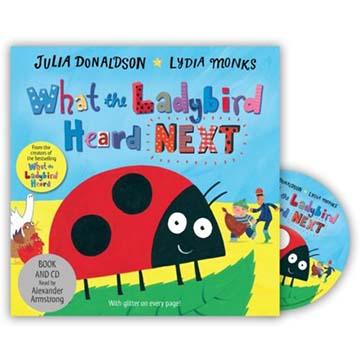 What The Ladybird Heard Next 小瓢蟲聽到了什麼?續集 平裝CD故事(外文書)