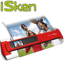 【MR3C】含稅免運 送8GB記憶卡+保護殼 iSken 專業版wifi 二合一分離式 攜帶式掃描器 IS-W4GD