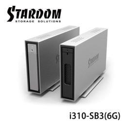 【MR3C】有問有便宜 含稅附發票 STARDOM 銳銨 iTANK i310-SB3(6G) 3.5吋熱抽取式外接盒