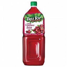 Tree Top 樹頂100%蔓越莓綜合果汁2L*2入
