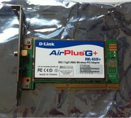 D-LINK AirPlus G+(DWL-G520+)