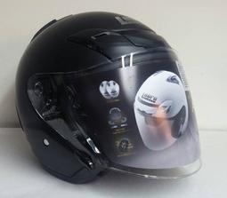 免運☆標車族☆Lubro Air Tech Vento 消光黑 免費升級墨片 類SHOEI 半罩安全帽 多色可選
