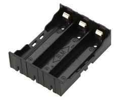 【盼盼325】 18650 三節 電池盒  ABS硬殼 彈片接點 可大電流 鋰電池 3節  串聯 並聯 充電【現貨】