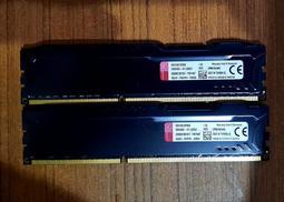 金士頓 DDR3 1866 8G 8GB HyperX FURY 酷炫黑/電競系列 記憶體
