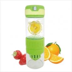 【AKWATEK】3in1多功能玻璃檸檬瓶(榨汁/磨汁/泡茶)