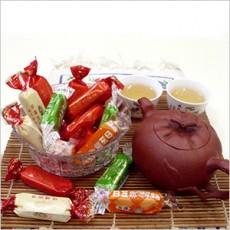 【萬竹食品】萬竹牛軋糖(低糖系列 600g/包)-綜合