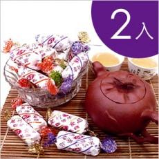 【萬竹食品】萬竹牛軋糖(香純系列600g/包)-2入組 綜合