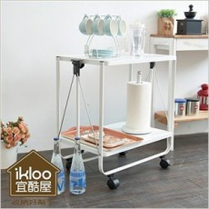 【ikloo】多功能折疊活動桌/餐桌/筆電桌(KC46)