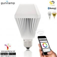 【EN5001】gunilam 手機APP控制亮度色彩 7W LED 燈泡