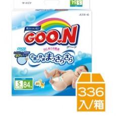 【日本大王GOO.N】紙尿褲(境內版)-黏貼型S(84片x4串)