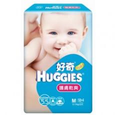 【金好奇】pH5.5 護膚乾爽紙尿褲M (62片x4包/箱)