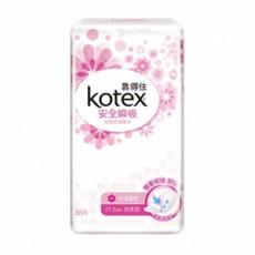 《靠得住》安全瞬吸護墊 加長型沐浴香氛17.5cm (26片x2包x12組/箱)