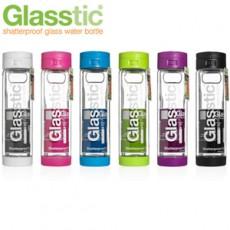 新一代 美國Glasstic 安全防護玻璃運動水瓶470ml-掀蓋式