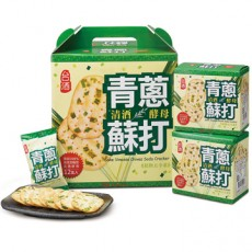 【台酒】清酒酵母青蔥蘇打120g*12盒(12盒/箱)
